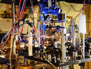 Atomic clock (Image: NIST)