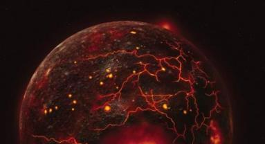 Planetary core formation. Credit: Speed metal, Science 6 June 2014.