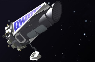 Artist's impression of NASA's Kepler Space Telescope, which has now begun a new phase of its exoplanet-hunting mission.