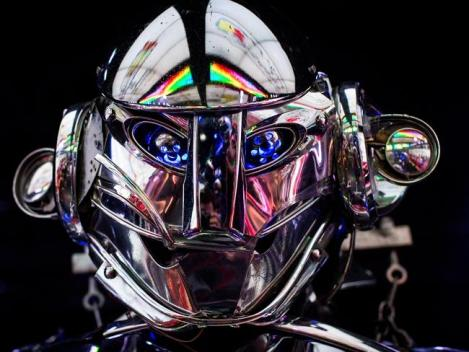 Part human, part machine, the future of artificial intelligence. (Credit: Getty Images)