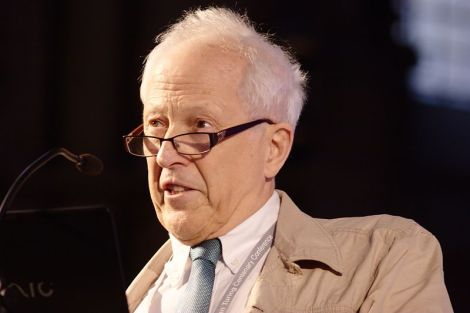 """""""You cannot do physics or cosmology without an assumed philosophical basis,"""" says George Ellis. (Credit: David Monniaux)"""