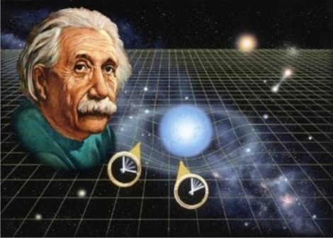 What is the view of time that Albert Einstein presents to us in special relativity? Einstein tells us that there is no separate 'time' or 'space.' 'Time' and 'space' cannot be separated; they are a united whole.