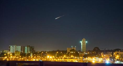 Steven Wright saw the fireball Thursday, July 10 (Credit: Steven Wright)