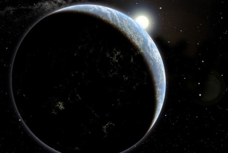 Image Caption: Artist's conception of a hypothetical exoplanet orbiting a yellow, Sun-like star. Astronomers have measured the ages of 22 Sun-like stars using their spins, in a method called gyrochronology. Before now, only two Sun-like stars had measured spins and ages. (Credit: David A. Aguilar (CfA))