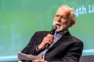 Dr. J. Michael Bishop- (Credit: Christian Flemming/Lindau Nobel Laureate Meetings)
