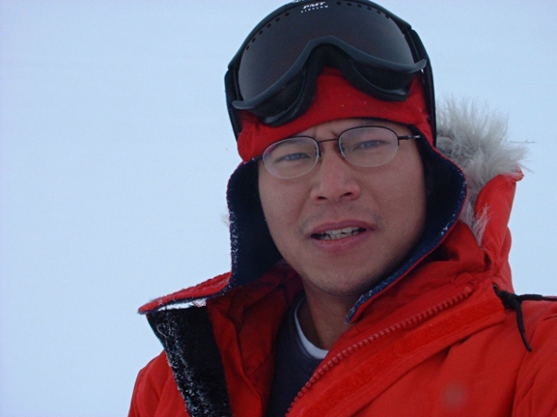 Chao-Lin Kuo, who helped design the BICEP2 experiment, isn't bothered by criticism that cosmic dust may account for his results. He just wants to know the truth. (Credit: Chao-Lin Kuo)