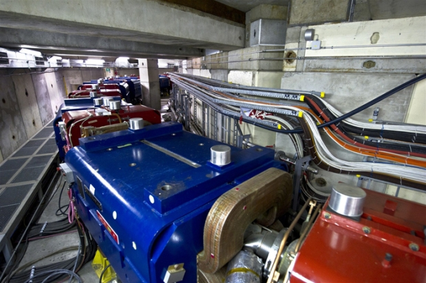 Powering up: CERN's Antiproton Decelerator will be running next week (Credit: CERN/Maximilien Brice)