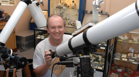 Bathurst Observatory Research Facility manager Ray Pickard said work will begin on the Bathurst Asteroid Research Telescope next week. (Credit: ZENIO LAPKA)