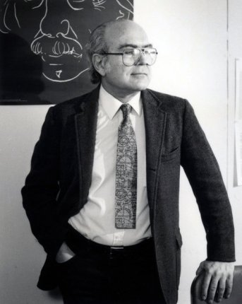 Bruno Zumino in 1985. (Credit: Lawrence Berkeley National Laboratory)
