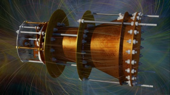 NASA has conducted experiments on a revolutionary space drive that seems to defy the laws of conservation of momentum and confirmed that it works. (Credit: EmDrive 3D render by Elvis Popovic)