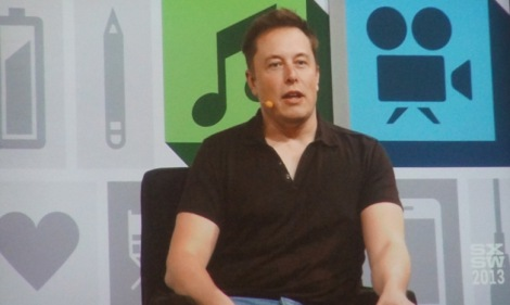 Above: Tesla CEO Elon Musk. (Credit: SXSW Livestream)