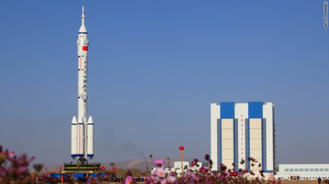 The U.S. Defense Department has highlighted China's increasing space capabilities, however, saying China was pursuing activities aimed at preventing its adversaries from using space-based assets during a crisis.(Credit: Jaime FlorCruz - CNN Beijing Bureau Chief)
