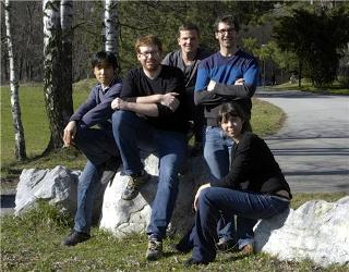 The Erbium Team (from left): Kiyotaka Aikawa, Albert Frisch, Simon Baier, Michael Mark, and Francesca Ferlaino (not pictured: Cornelis Ravensbergen) (Credit: University of Innsbruck)