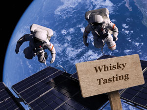 Whisky that was fired into space three years ago as part of an experiment into flavour has returned to Earth. (Credit: Unknown)