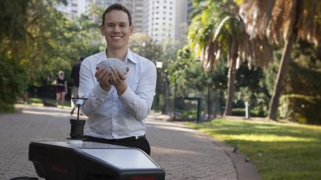 Researcher will mash together the visual recognition skills of humans and the spatial memory system of rats to enable robots to navigate in any environmental conditions. (Credit: The Australian)