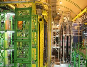 Two new particles have been discovered by the LHCb experiment at CERN's Large Hadron Collider near Geneva, Switzerland. One of them has a combination of properties that has never been observed before. : Dave Stock)