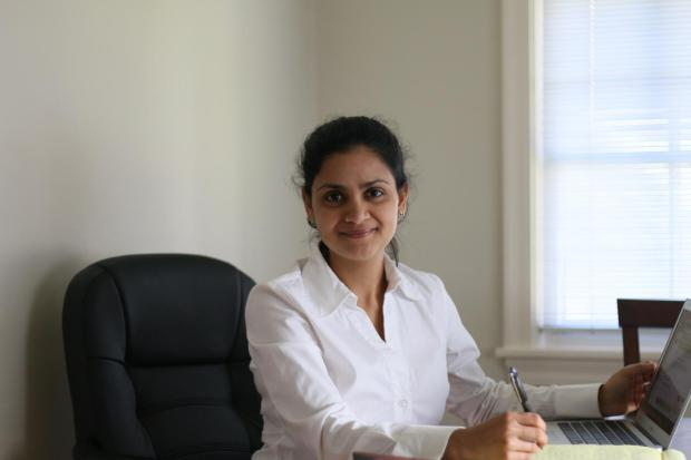 This is Sanchayeeta Borthakur, assistant research scientist in the Department of Physics and Astronomy at the Johns Hopkins University. (Photo Credit: JHU)