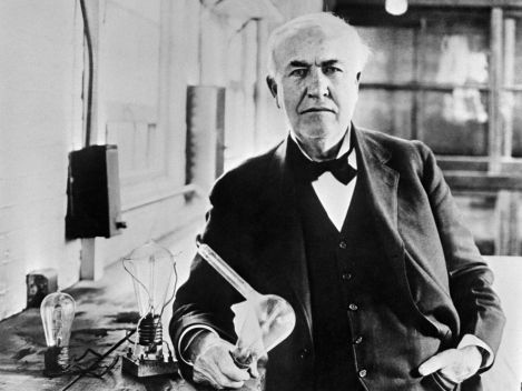 Thomas Edison is famous for his lightbulb, but he never won a Nobel Prize. (Credit:  AFP/Getty)