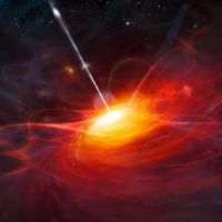 Spooky alignment of quasars across billions of light-years