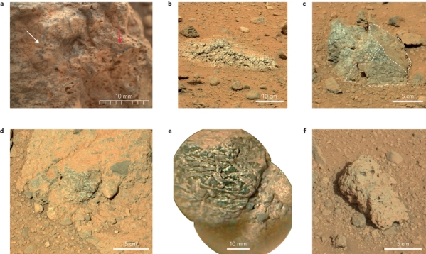 Diversity of rock textures. Credit: Nature Geoscience (2015) doi:10.1038/ngeo2474