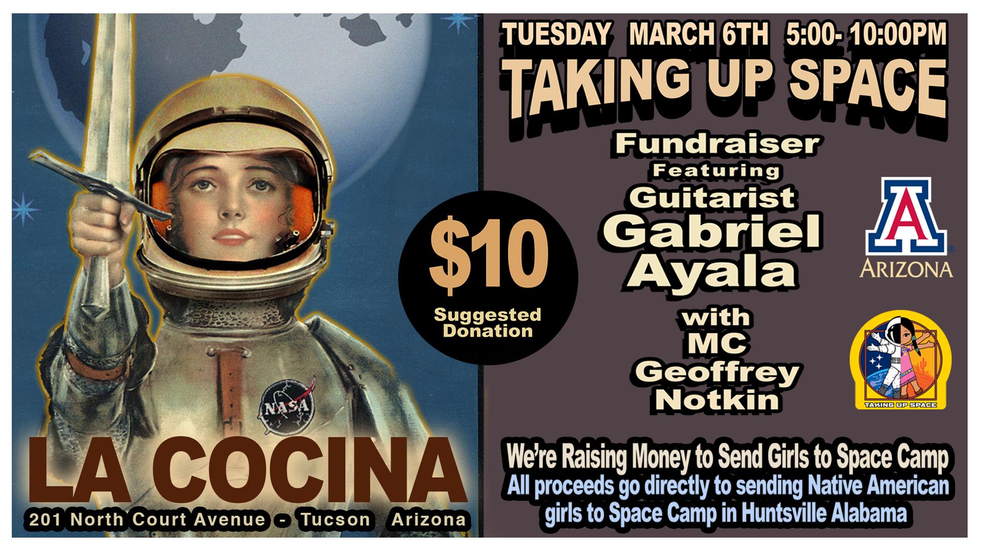 Fundraiser featuring Guitarist Gabriel Ayala!