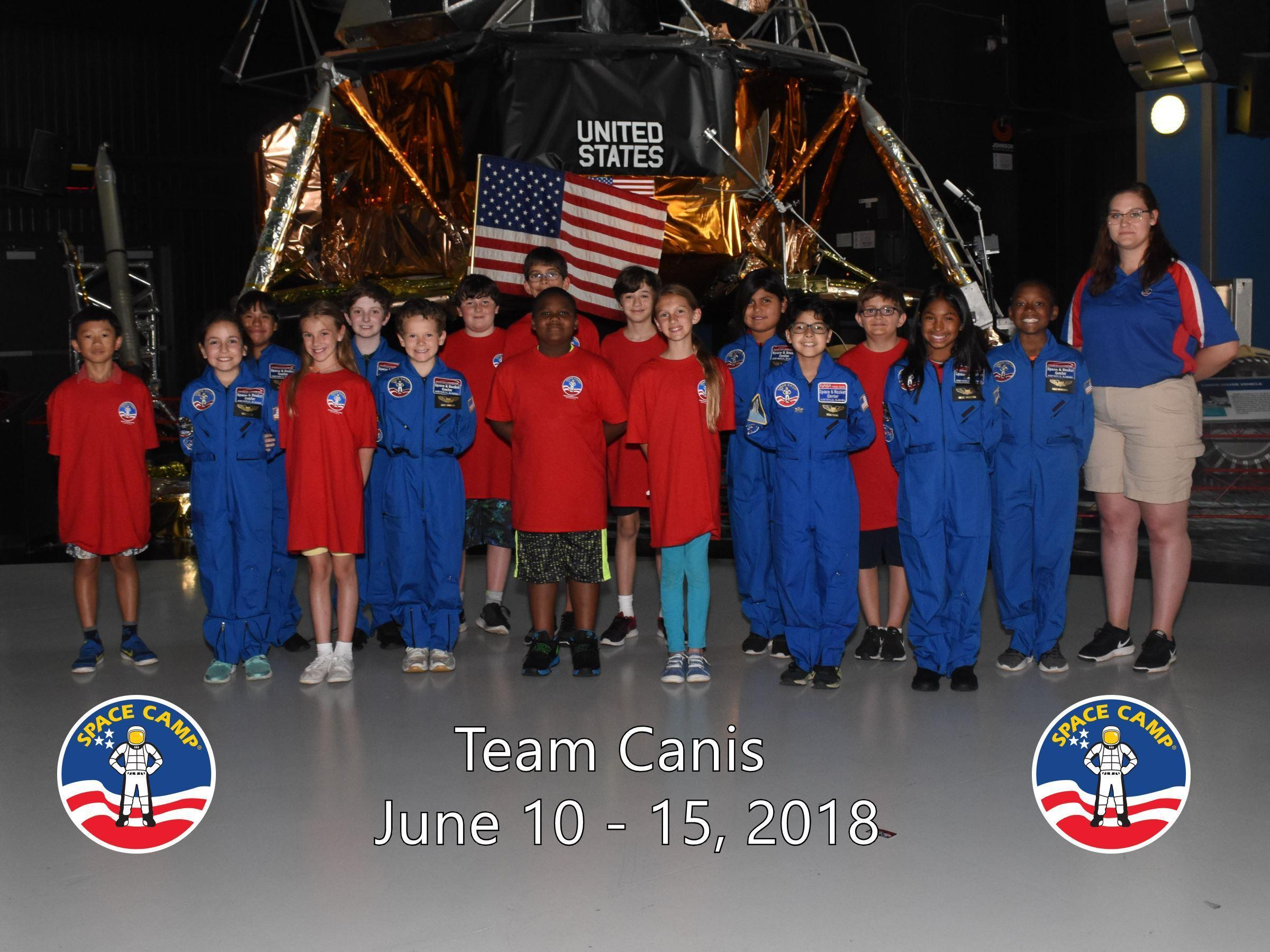 Space Camp 2019 or Bust!